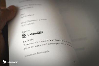 Impreso por Ediciones on Demand